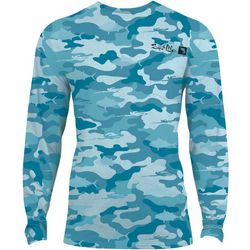 Salt Life Mens Dark Tides SLX Performance Shirt