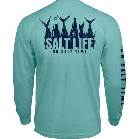 Salt Life Mens 5 O'Clock Somewhere Pocket T-Shirt