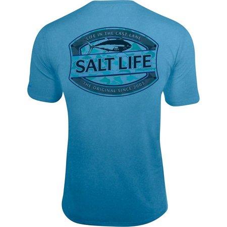 Salt Life Mens In The Cast Lane SLX
