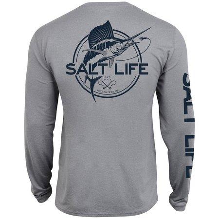 Salt Life Mens Marlin Life SLX UVapor T-Shirt