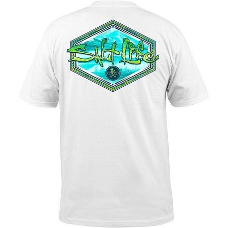 Salt Life Mens Mahi Peak T-Shirt