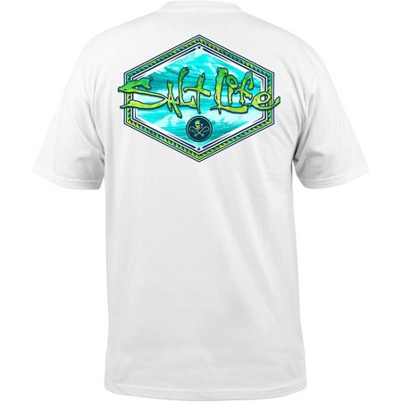 Salt Life Mens Mahi Peak T-Shirt