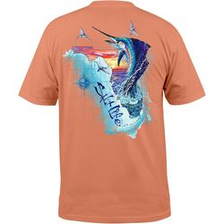 Salt Life Mens Florida Sails T-Shirt