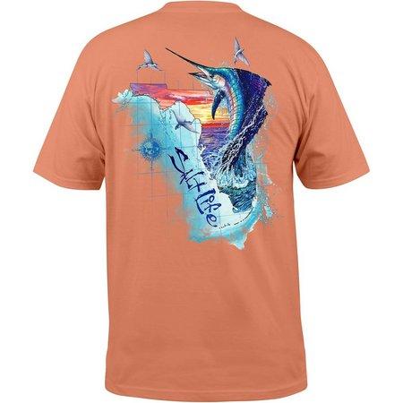 Salt Life Mens Florida Sails T-Shirt