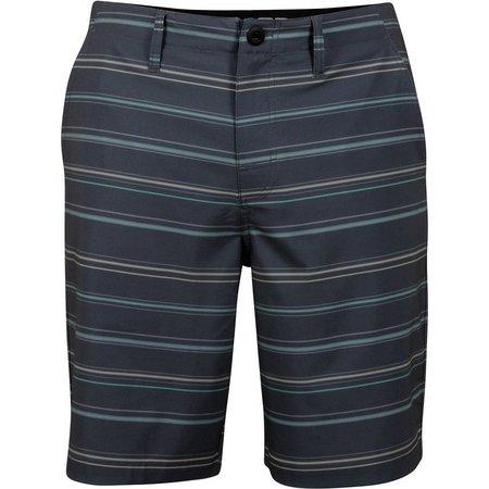 Salt Life Mens Stripe Swerve Shorts