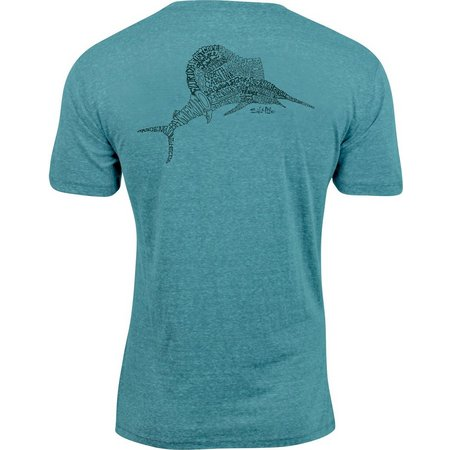 Salt Life Mens Locals Only Triblend T-Shirt