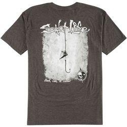 Salt Life Mens Stacked Logo T-Shirt