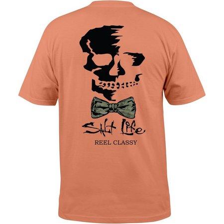 Salt Life Mens Grapefruit Reel Classy T-Shirt