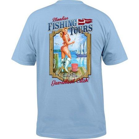 Salt Life Mens Blondies Fishing Tours T-Shirt