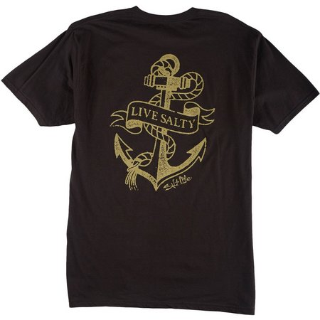 Salt Life Mens Dead Weight Logo T-Shirt