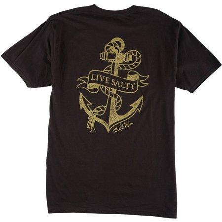 Salt Life Mens Dead Weight Logo T-Shirt