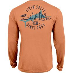 Salt Life Mens Salty Marlin SLX Performance Shirt