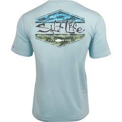 Salt Life Mens Scheme SLX Performance T-Shirt