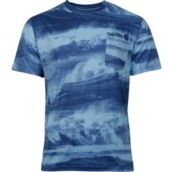 Salt Life Mens Stormy Waters SLX Uvapor T-Shirt