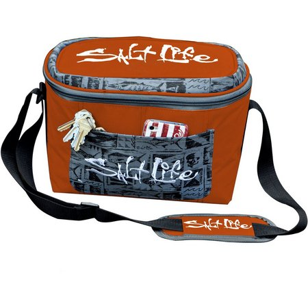Salt Life Dark Orange Travel Cooler