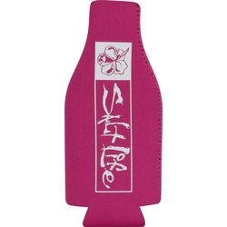 Salt Life All Day Hibiscus Insulated Bottle Cooler