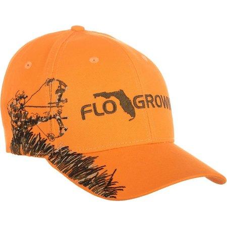 FloGrown Mens Orange Bow Hunter Hat