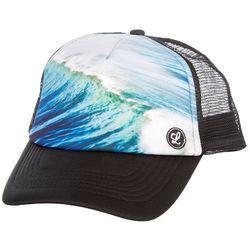 IKNK Mens Ocean Wave Trucker Hat