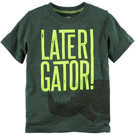 Carters Little Boys Later Gator T-Shirt