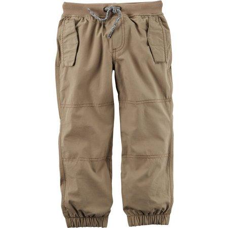 Carters Little Boys Poplin Jogger Pants