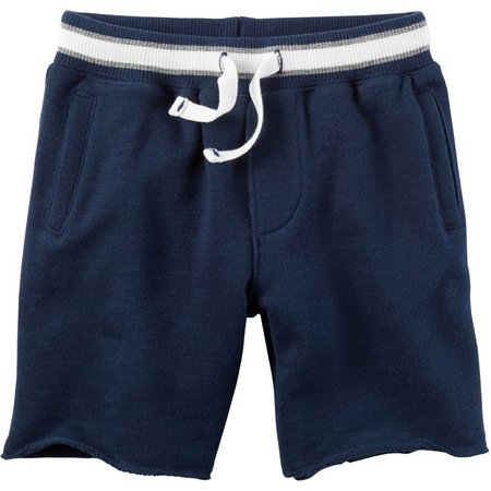 Carters Little Boys Solid French Terry Shorts