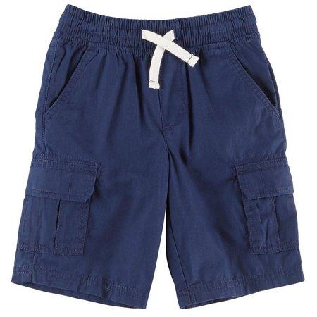 Carters Little Boys Poplin Cargo Shorts