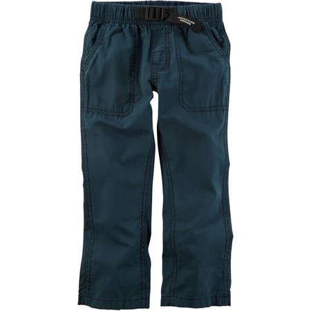 Carters Little Boys Pull-On Poplin Jogger Pants