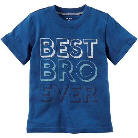 Carters Little Boys Best Bro Ever T-Shirt