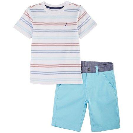 Nautica Little Boys Curacao Shorts Set