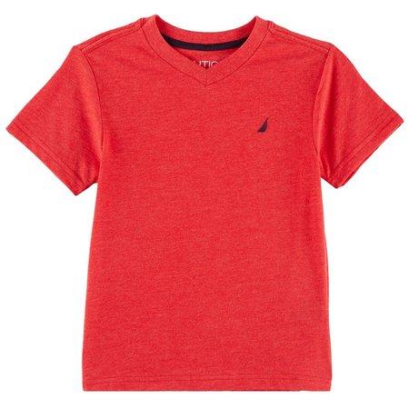 Nautica Little Boys Solid Channel T-Shirt
