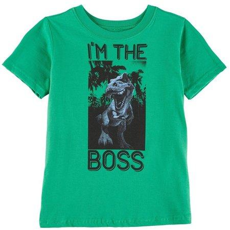 Nannette Little Boys I'm The Boss T-Shirt