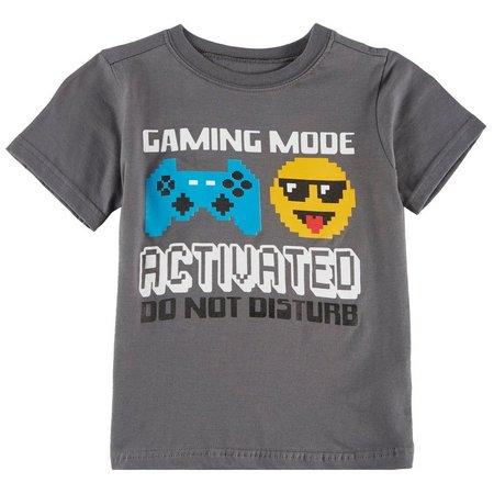 Nannette Little Boys Gaming Mode T-Shirt