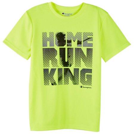 Champion Little Boys Home Run King T-Shirt