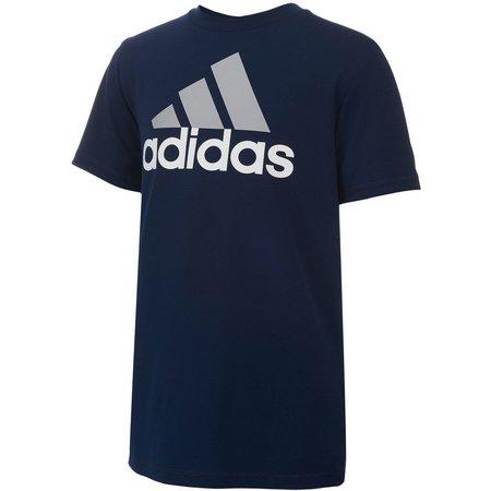 Adidas Big Boys ClimaLite Performance Logo T-Shirt