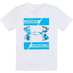 Under Armour Little Boys Camo Branded T-Shirt