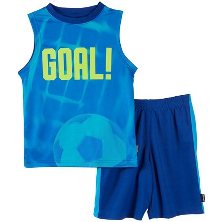 Spalding Little Boys Goal Shorts Set