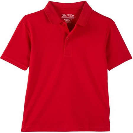 New! Nautica Little Boys Performance Polo Shirt