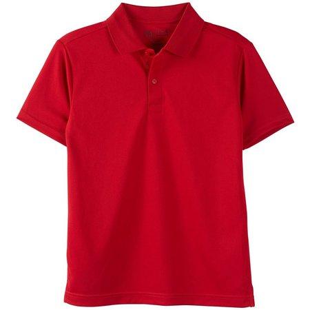 Nautica Big Boys Solid Performance Polo Shirt