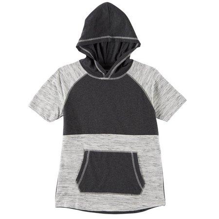 Overdrive Big Boys Space Dye Hoodie T-Shirt