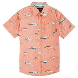 Ocean Current Big Boys Rehooked Woven Shirt