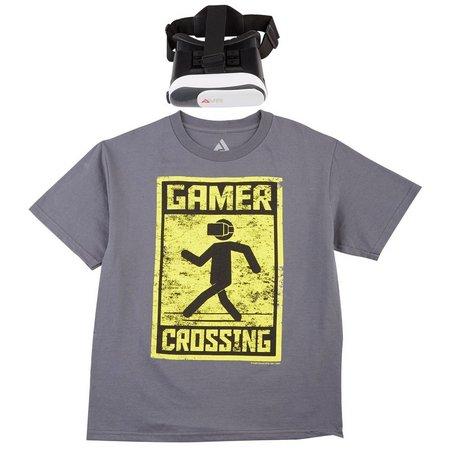 Audio Council Big Boys Gamer Crossing VR T-Shirt