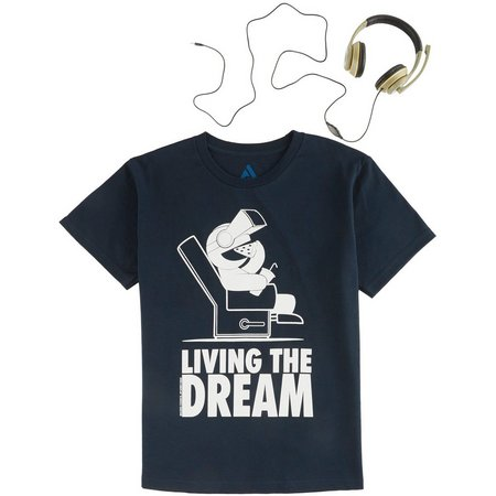 Audio Council Big Boys Living The Dream T-Shirt