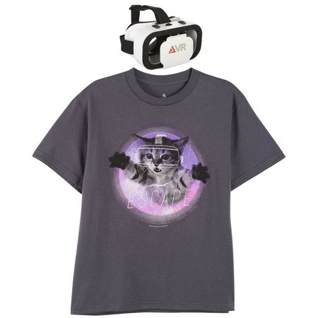 Audio Council Big Boys VR Cat Escape T-Shirt