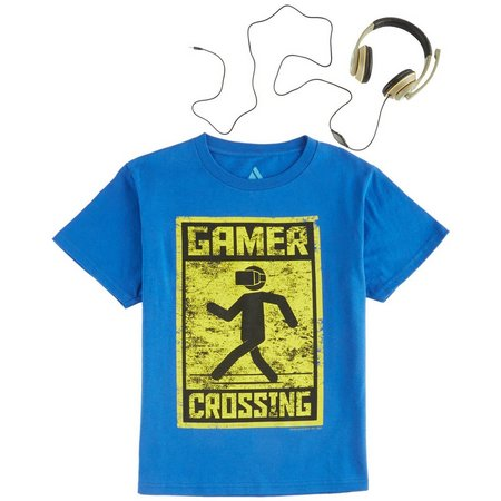 Audio Council Big Boys Gamer Crossing T-Shirt