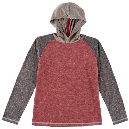 DCBD Big Boys Long Sleeve Hooded T-Shirt