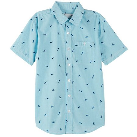 PS From Aeropostale Big Boys Scuba Shirt
