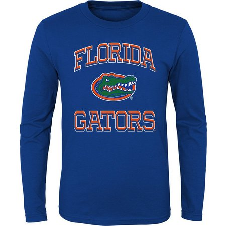 Florida Gators Big Boys 3D Logo Long Sleeve