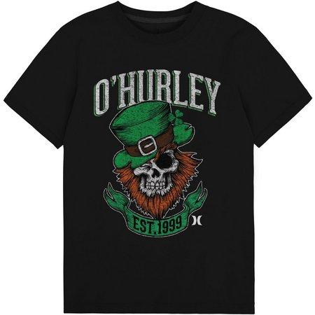 Hurley Big Boys O'Hurley Leprechaun T-Shirt