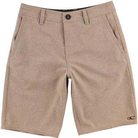 O'Neill Little Boys Locked Stripe Hybrid Shorts