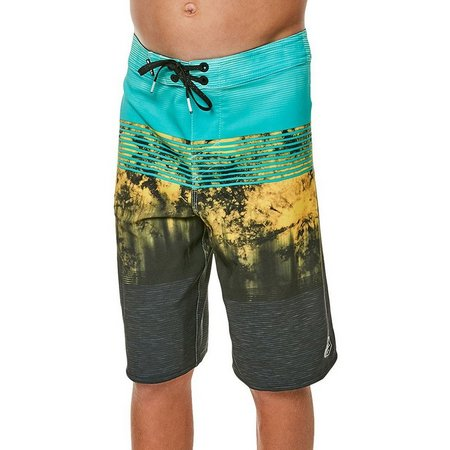 O'Neill Big Boys Hyperfreak Island Stripe Boardshorts